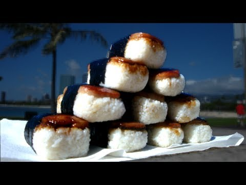 1min Spam Musubi Speed Eating - 60 Second Series Ep. #5