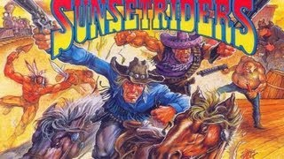 CGRundertow SUNSET RIDERS for Super Nintendo Video Game Review