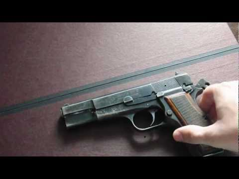 FEG PJK9HP Browning Hi Power clone Field stripdisassembly