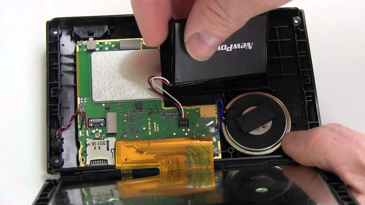 How To Replace Your Garmin Nuvi Battery YouTube - Nuvi 2557