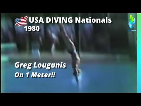 1980 Greg Louganis - 1 meter
