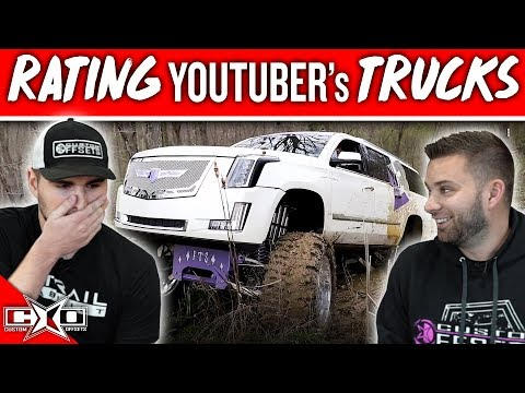 RATING YouTuber's TRUCKS!!!