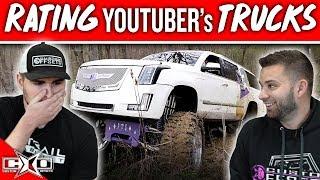 RATING YouTuber's TRUCKS!!!