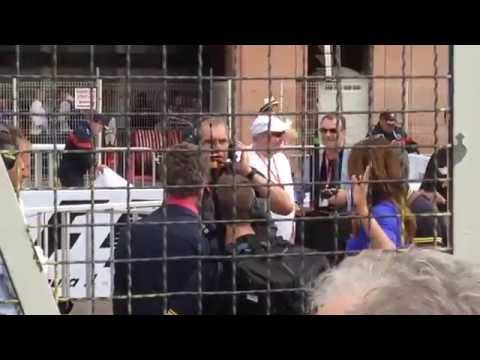BBC F1 Team, Celebrities and Drivers At Monaco Grand Prix 2015 Post-Race Paddock Area