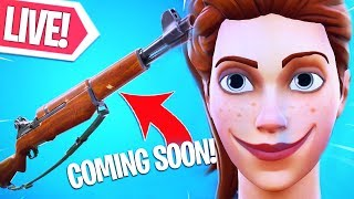 CUSTOM & GEWONE POTJES SPELEN!! MORGEN INFANTRY RIFLE! Fortnite Battle Royale LIVE