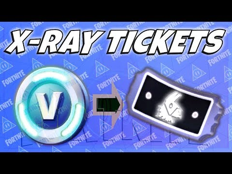 Fortnite: Stw - No More V-Bucks For Non-Founders & What Are X-Ray Tickets?