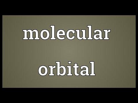 Molecular orbital Meaning