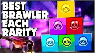 BEST Brawler For EACH RARITY! - New Meta Brawler Ranking! + Gameplay! - Brawl Stars