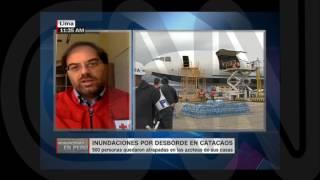CNN ESPAÑOL - CRUZ ROJA - EMERGENCIAS PERÚ