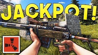 DECAYED BASE JACKPOT! - Rust DUO Survival #7