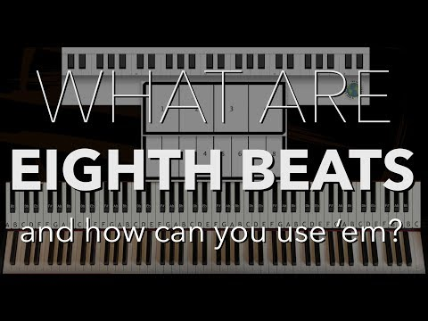 8th beats and how to use them. Piano Tutorial by Coen Modder - Piano Lingo | Piano Couture