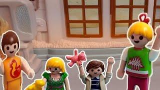 نيللي وشريهان حولوا ماما وبابا بيبيهات - عائلة نيللي