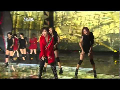 Sixth Sense 2011 SBS Gayo Daejun   Brown Eyed Girls
