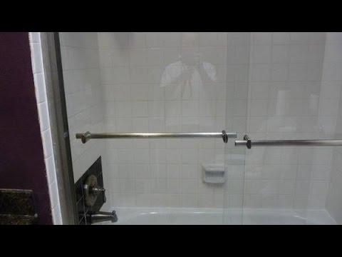 Marvelous Dreamline Duet Bypass Shdr 1260588 04 Tub Shower Doors Installation    YouTube