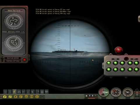 Silent Hunter 4 warship attack |