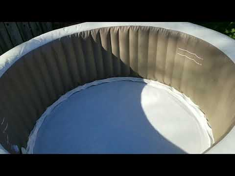 DRAIN AND CLEAN INTEX HOT TUB