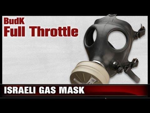 Israeli Issue Gas Mask With Drinking Tube \u0026 Sealed Filter - $19.99