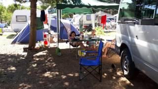 Minhtrang andja. Camping Pila Punat Krk 18.07.2016