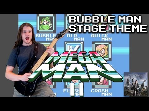 Bubble Man Stage Theme (Mega Man 2) Rock/Metal Guitar Remix Version mp3
