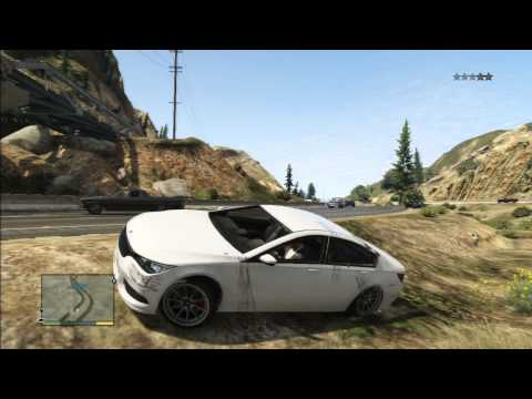 GTA 5 BMW 7 SERIE BIG MOVIE