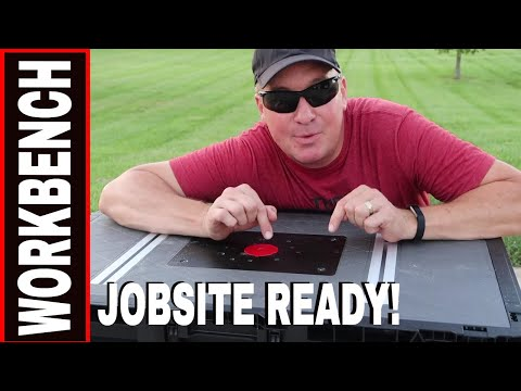 HUSKY PORTABLE WORKBENCH & ROUTER TABLE REVIEW #225047