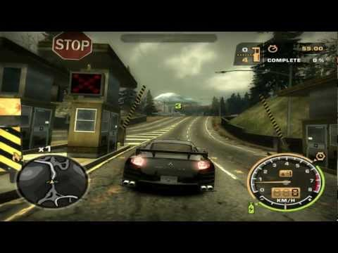 Need For Speed: Most Wanted (2005) - Race #35 - Waterfront & Bristol (Tollbooth)