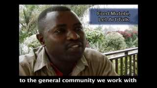 Talking Murals with Fred Mutebi of Let Art Talk