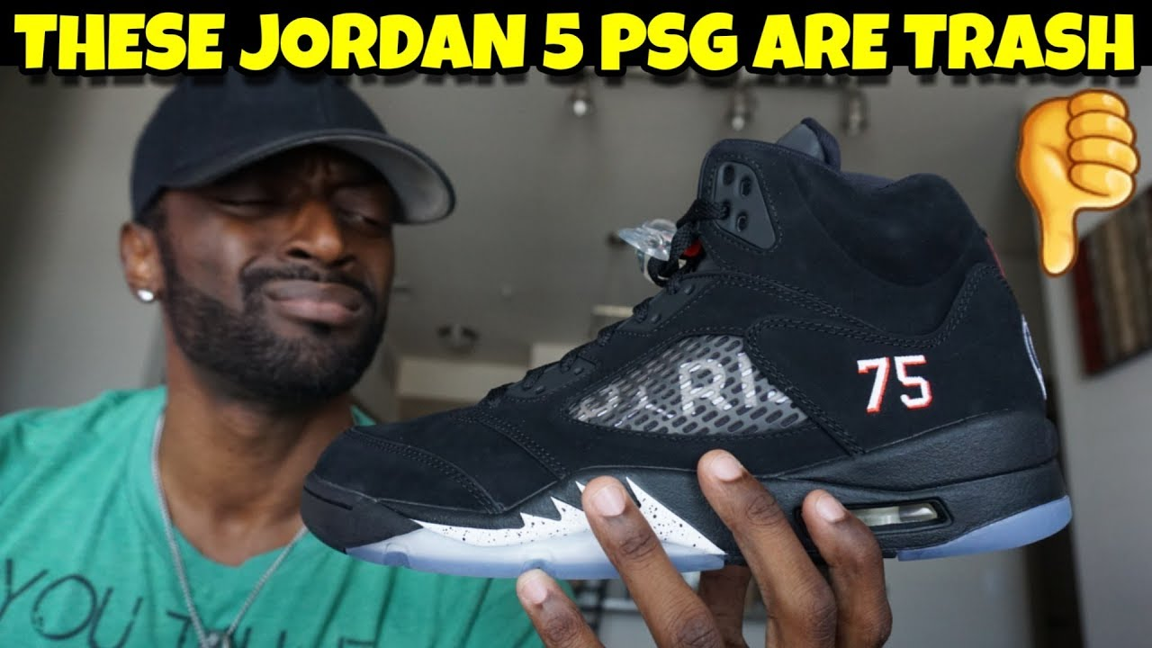 wholesale dealer 9a9c8 8f9fe These Jordan 5 PSG