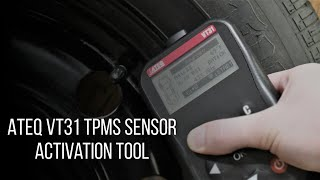 ATEQ VT31 TPMS sensor reader and activator