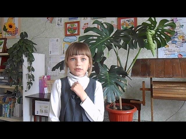 Изображение предпросмотра прочтения – ДарьяКудрицкая читает произведение «Весна» А.Н.Плещеева