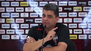 Entrevista: Técnico Marcelo Cabo após o empate do Atlético com o Itumbiara