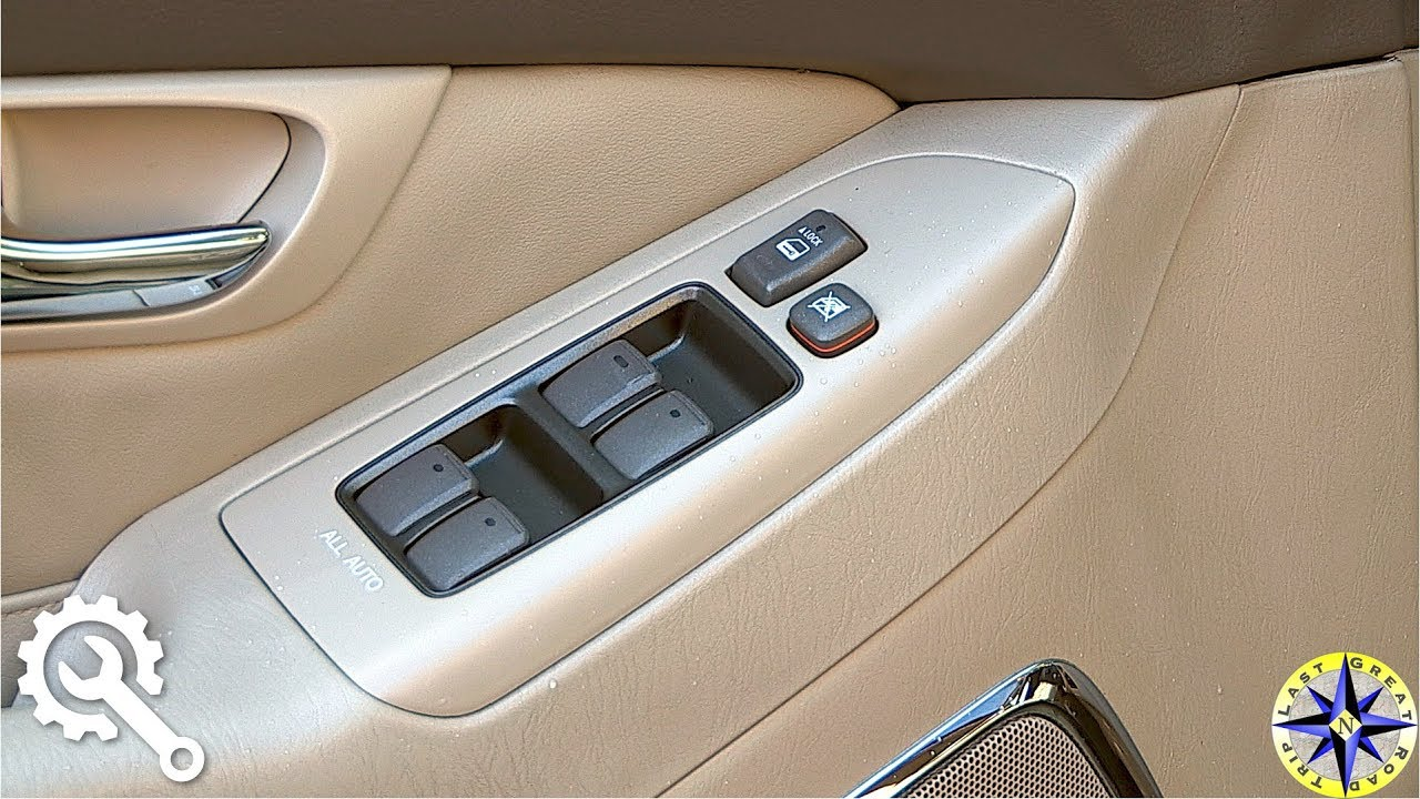 How To Reset Lexus GX470 Remote Window Controls