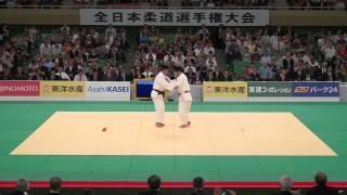 """2012全日本柔道選手権「投の形」(All Japan Judo Championships """"Nage-no-kata"""")"""