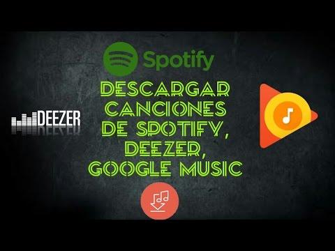 Descargar canciones de Spotify,  gratis ( Noviembre)