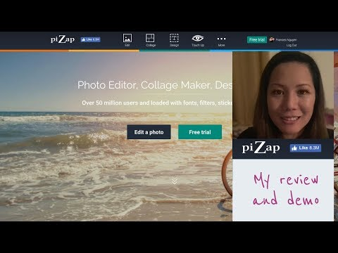 Pizap: Photo Editor, Collage Maker, Design Too: My Demo \u0026 Review