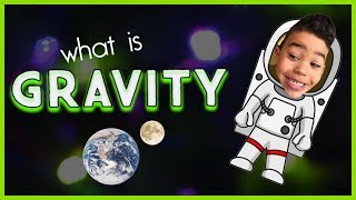 Learning about GRAVITY! | Teaching kids science