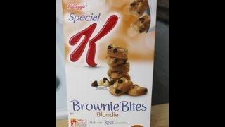 Kellogg's Special K Brownie Bites Review