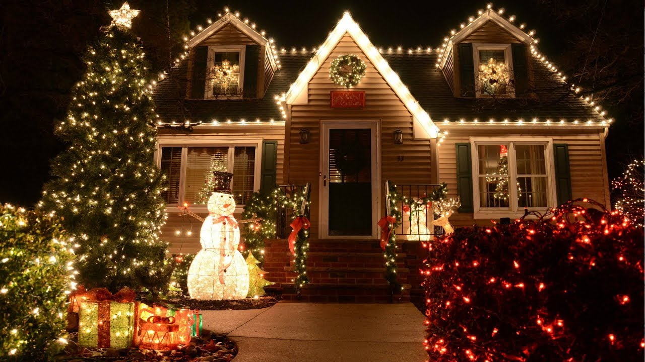 Image result for christmas house