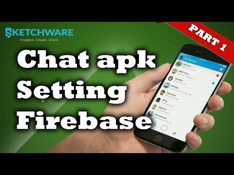 Sketchware | Setting Firebase Chat Part 1