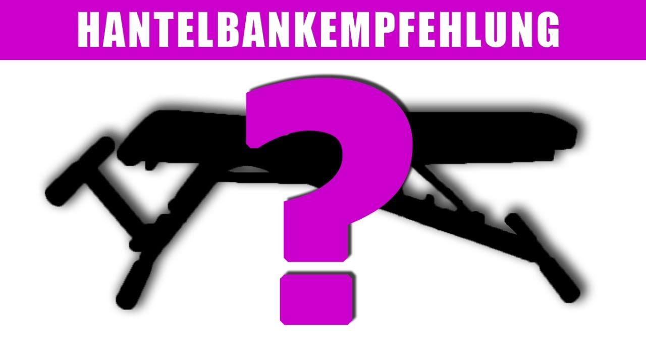 premium line hantelbank empfehlung fitnessstudio zu hause youtube. Black Bedroom Furniture Sets. Home Design Ideas