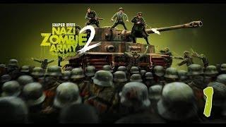 Sniper Elite: Nazi Zombie Army 2 Co-op Часть #1.