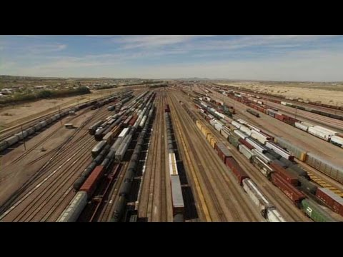 Port of Los Angeles 2 Riding the Rails to Barstow and Beyond