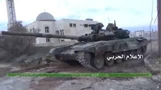 Боевое применение Т-90.  Сирия, 2016 г