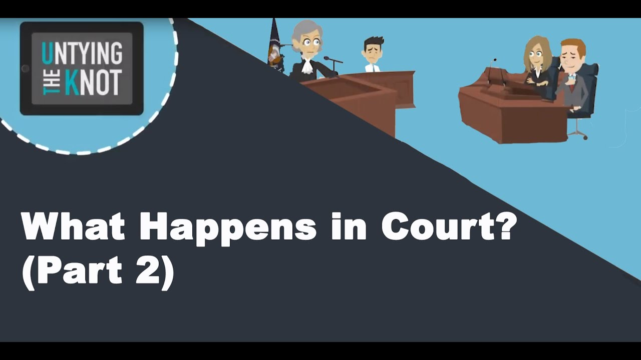 what happens in a court case