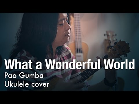 What a Wonderful World (ukulele instrumental) - Pao Gumba