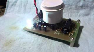 秋月電子の焦電型赤外線センサ実験
