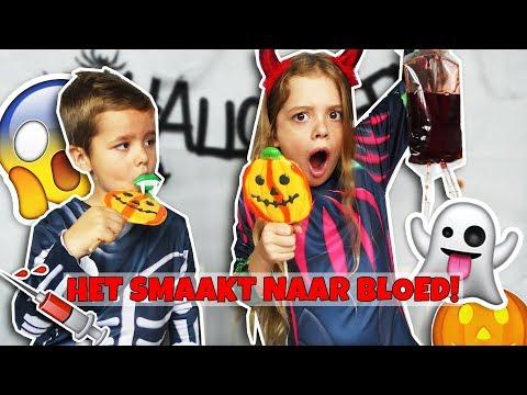HALLOWEEN SNOEPCHALLENGE!! - Broer en Zus TV VLOG #231
