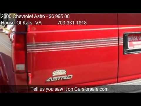 2000 Chevrolet Astro CONVERSION VAN
