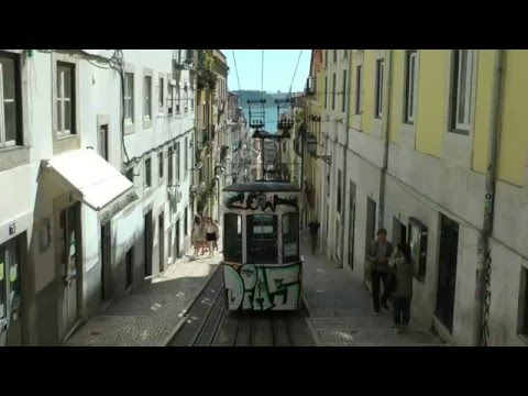 Lisbon trams transportation - lisboa, Portugal