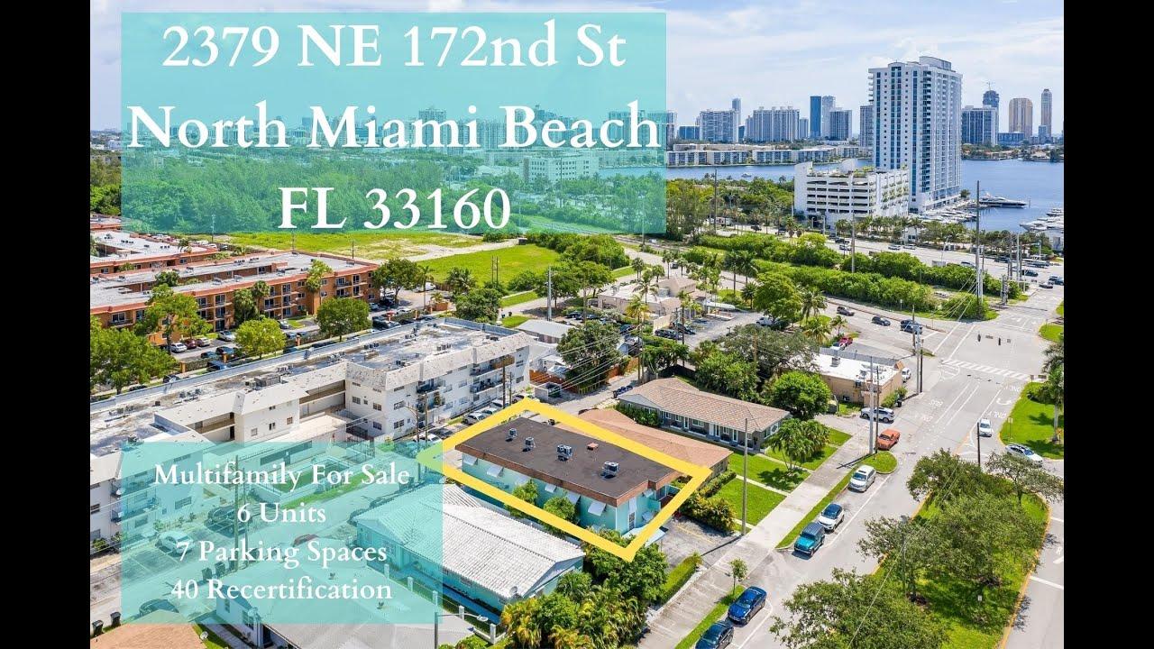 Income Producing Multifamily in Miami - 2379 NE 172nd St North Miami FL